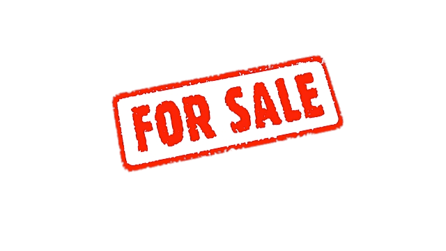 Small For Sale Sign transparent PNG.