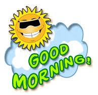 Good morning love clipart.