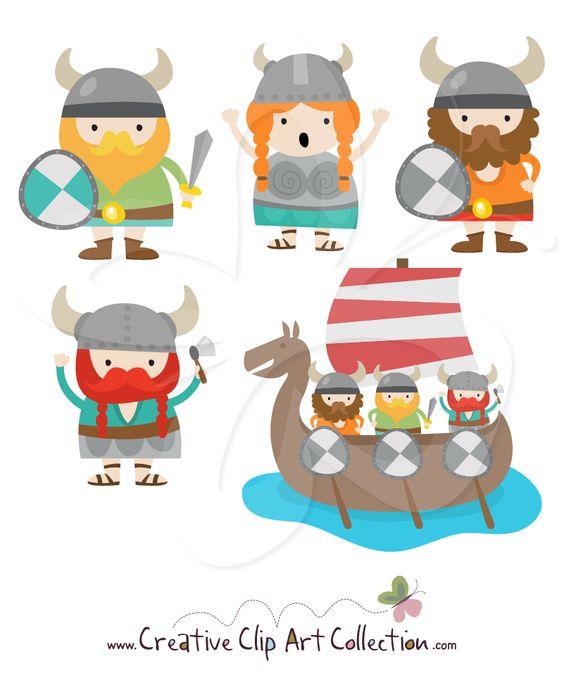 clipart, viking.