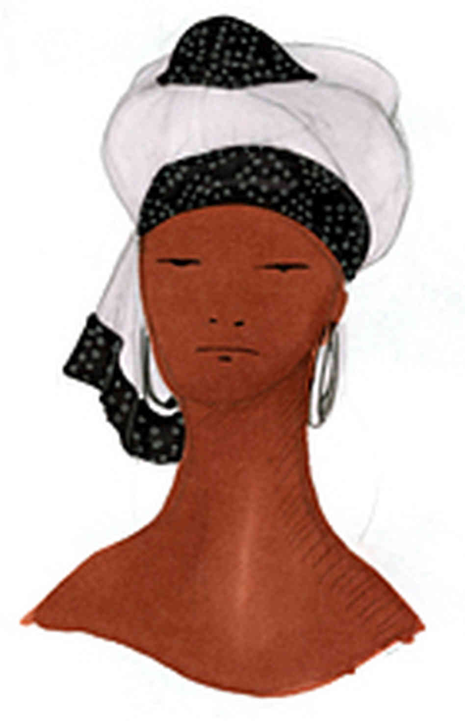 Hats Woman Clipart.