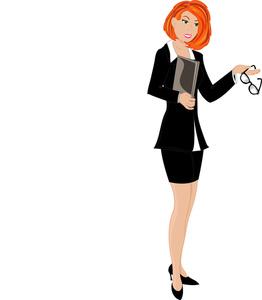 Women Working Clipart.