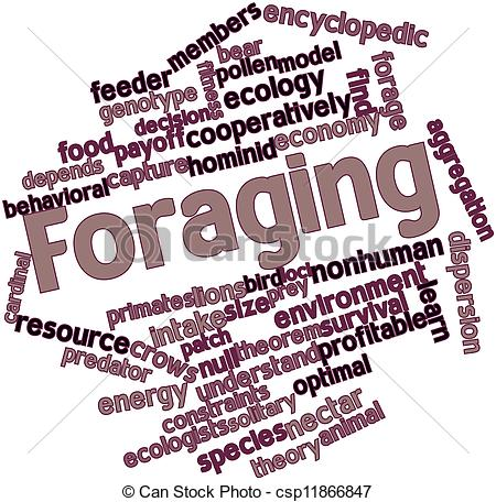 Drawing of Foraging.