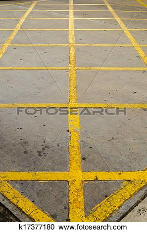 Stock Photography of Forbidden area background. Street no parking.