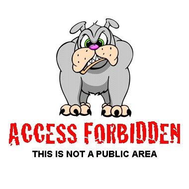 Forbidden Area.