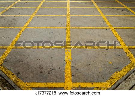 Pictures of Forbidden area background. Street no parking zone.
