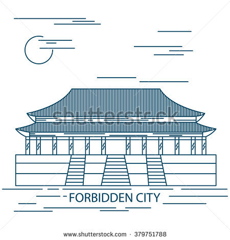 Beijing Forbidden City Stock Photos, Royalty.