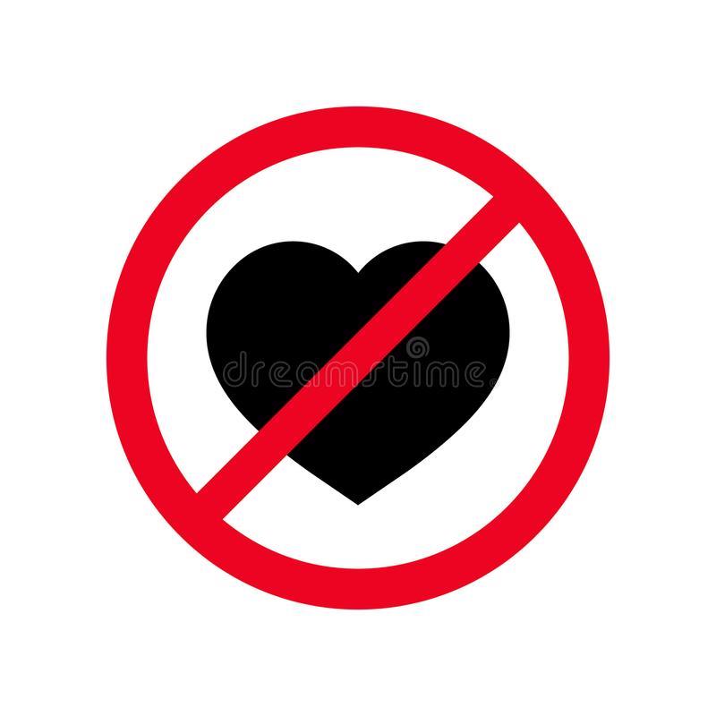 Forbidden Love Stock Illustrations.