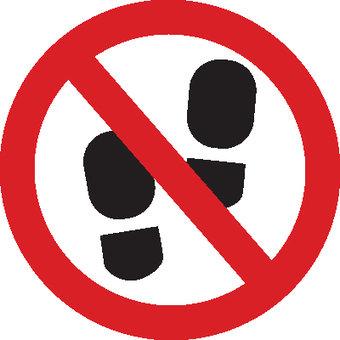 Prohibition icons.