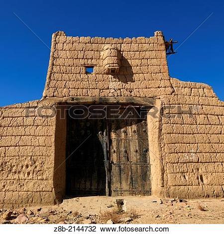 Stock Photo of Asir area : Ahad Rofaida village, Sunday Qatan.