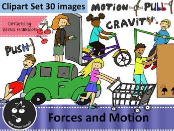 Force And Motion Clipart Worksheets & Teaching Resources.