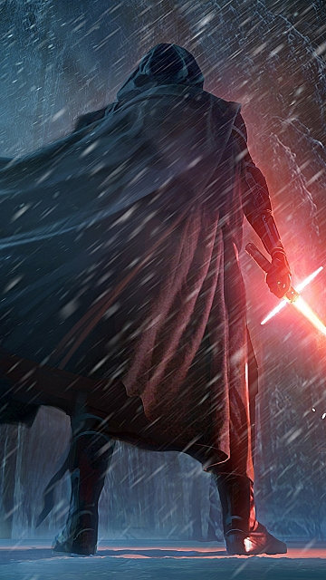 Free Star Wars: The Force Awakens mobile phone wallpaper, high.