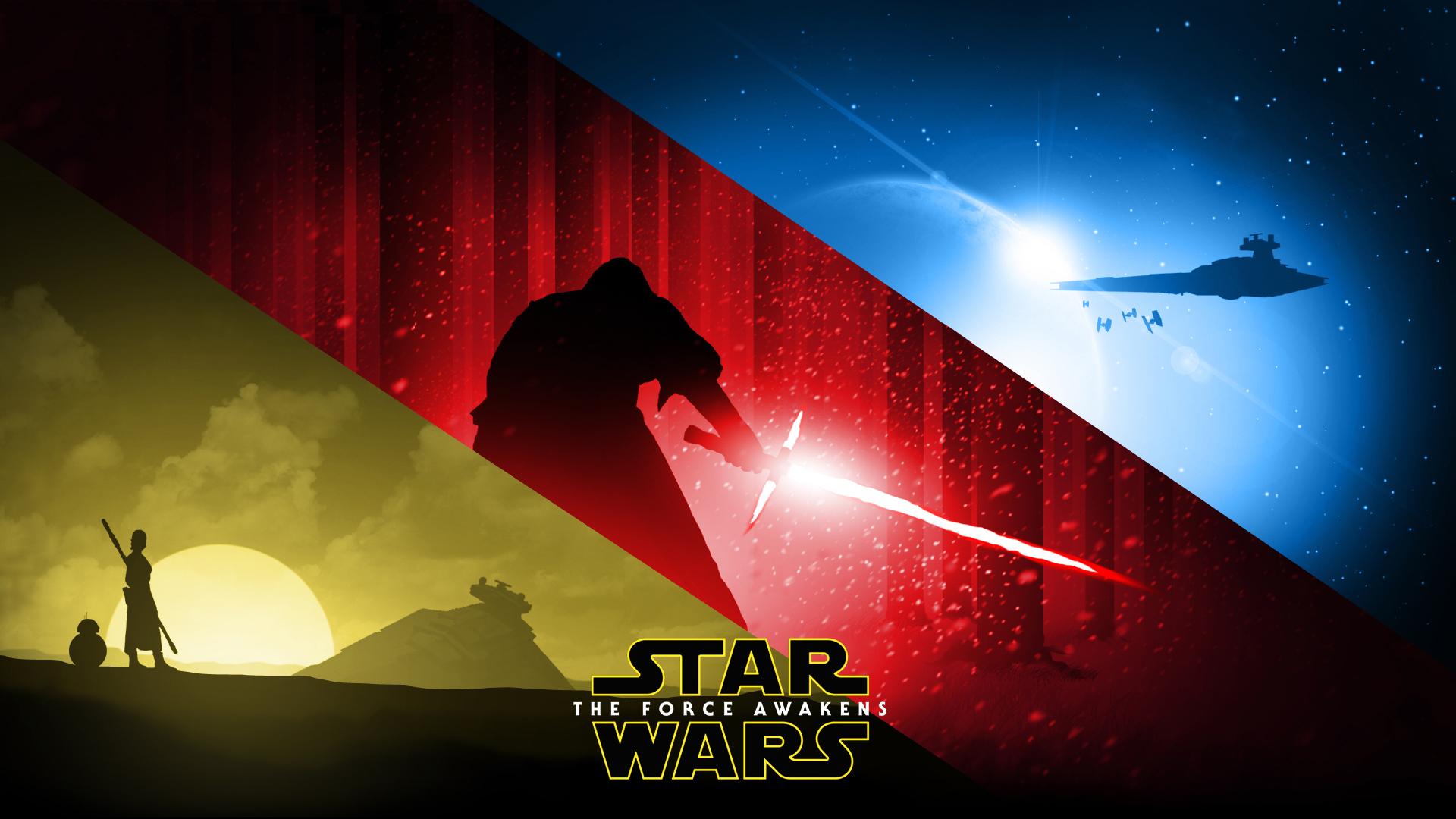 Movies Wallpaper: Star Wars The Force Awakens Wallpapers Desktop.
