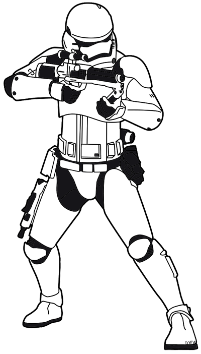 Star Wars the Force Clip Art.
