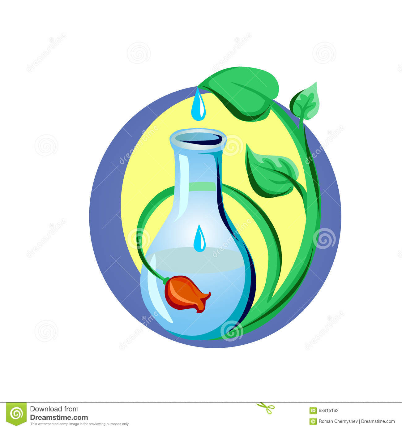 Water Is The Driving Force Of All Nature Stock Vector.
