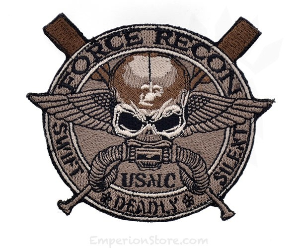 USMC Force Recon Low Vis patch.