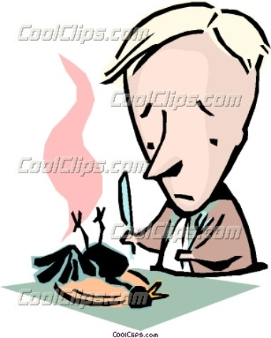 Eating Crow Clipart.