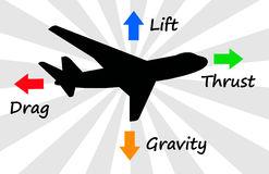 Jetliner Stock Illustrations.
