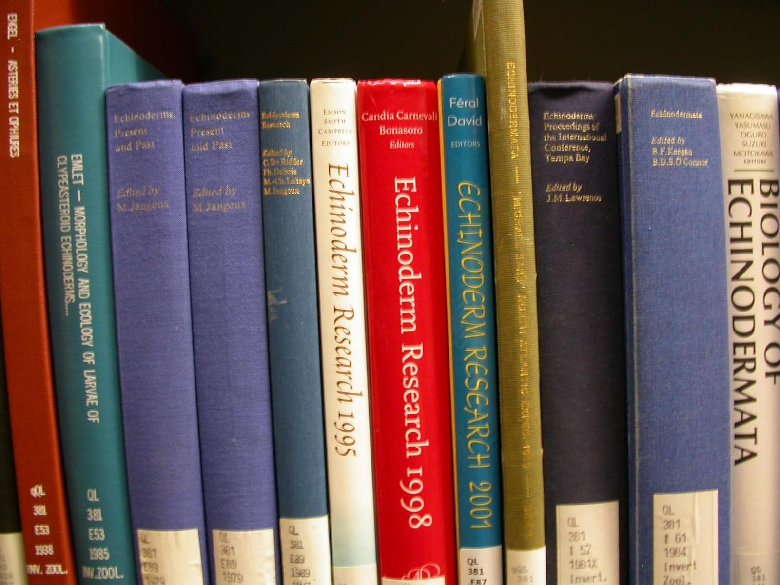 The Echinoblog: Classic Echinoderm & Starfish Taxonomy Monographs.