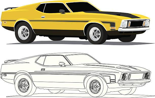 Ford Car Clip Art, Vector Images & Illustrations.