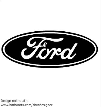 Ford logo clip art.