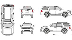 Ford Clipart ford expedition 7.