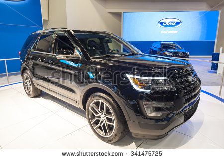 Ford Explorer Stock Images, Royalty.