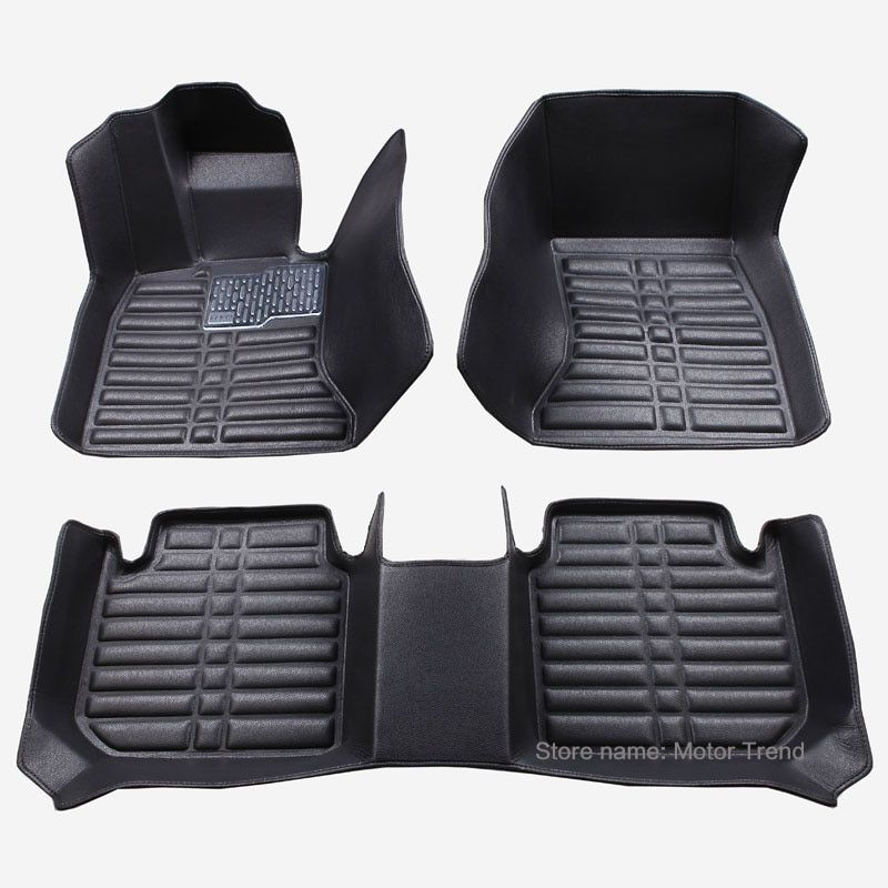 Customized good car floor mats for Ford Fusion Mondeo Focus.
