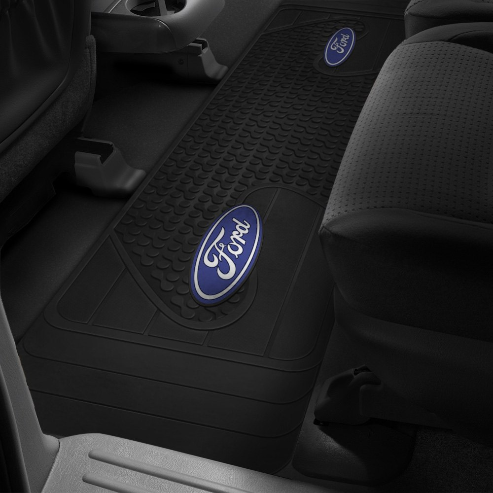 Black Ford Logo Rubber Mat.