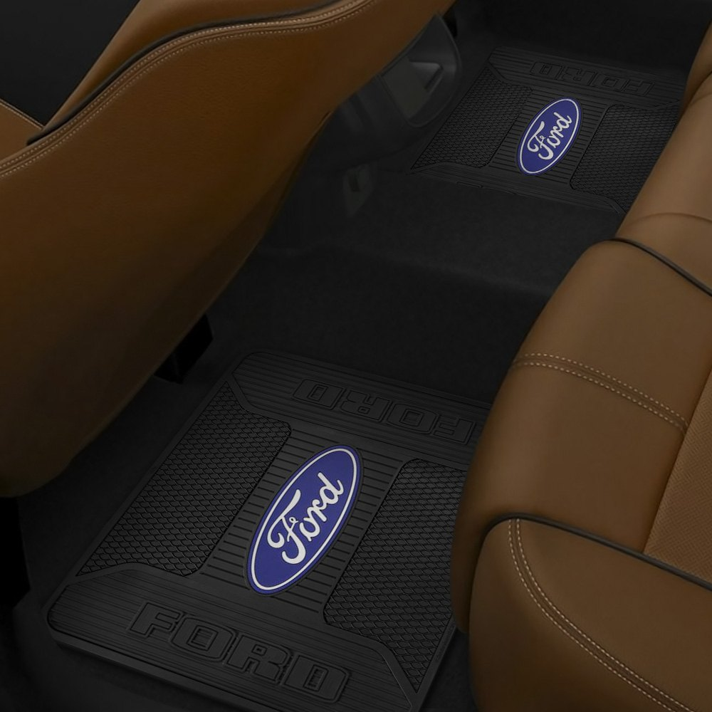 Details about Plasticolor 001189R01 Ford Elite Series 2nd Row Footwell  Coverage Floor Mat.