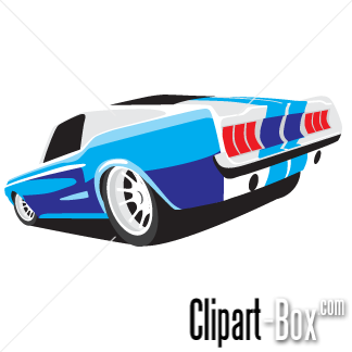 Back Of Mustang Clipart.