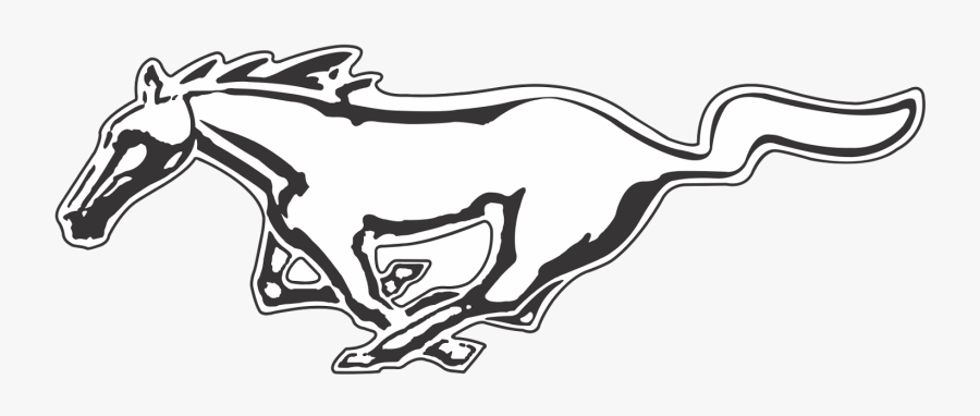 Mustang Logo Png Transparent Image.