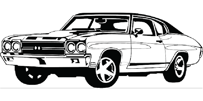 Sports car Clip art Vector graphics Ford Mustang.