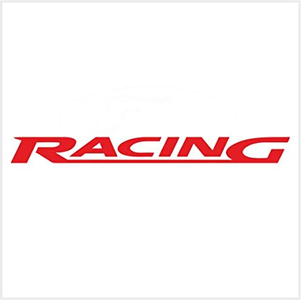 Amazon.com: 2pcs Ford Racing Logo Decals Stickers Red M2 12.