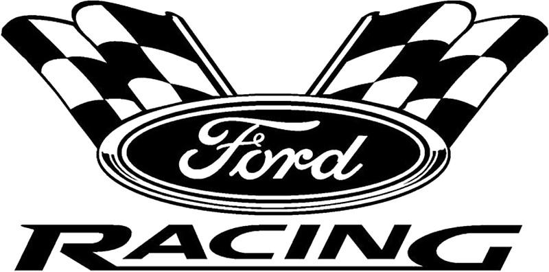 Ford Racing Logo.