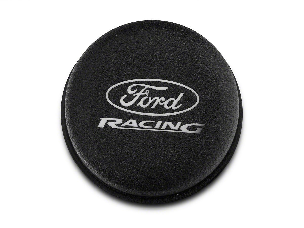 Ford Performance Black Breather Cap w/ Ford Racing Logo (79.