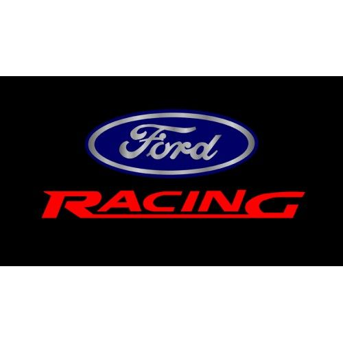 Ford Racing Logo.
