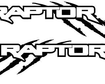 Ford raptor Logos.