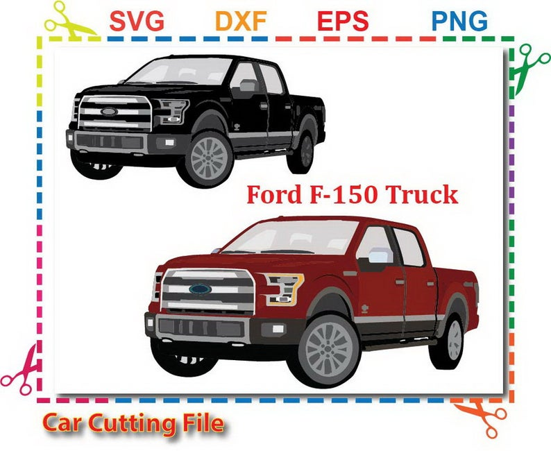ford f150 svg, car svg, Truck Clipart,ford truck svg file for cricut ,SVG  for Silhouette Studio, svg cut file,commercial use.