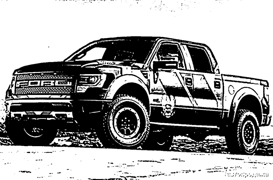 Download ford raptor clip art clipart Ford F.