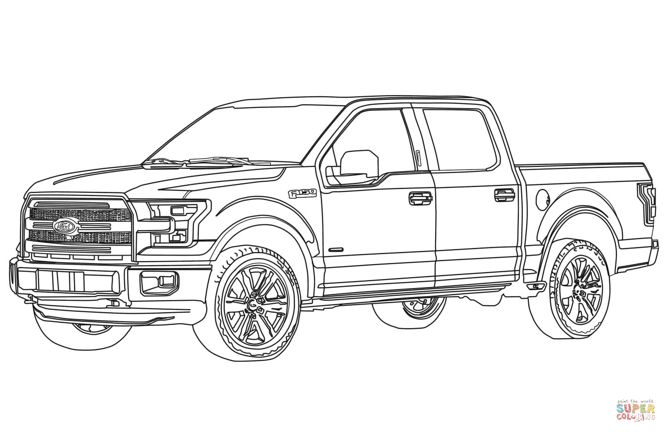 Best Ford Truck Silhouette Images » Free Vector Art, Images.