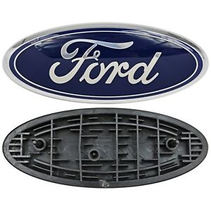 Details about Ford Truck Logo Oval Front Grill Emblem Badge Replacement 9\
