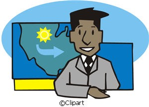 Clip Art Weather Forecast Clipart.