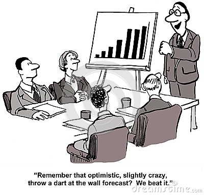 Sales forecast clipart.