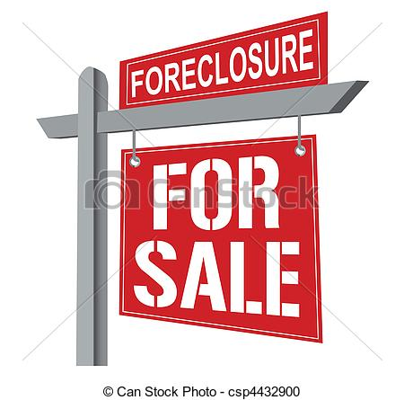 Foreclosure sign Illustrations and Clip Art. 780 Foreclosure sign.