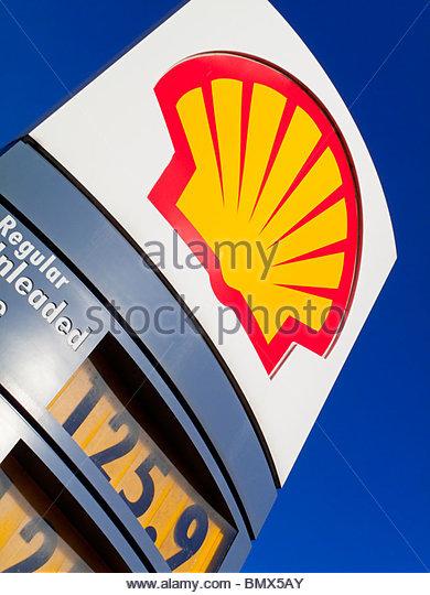 Petrol Forecourt Sign Stock Photos & Petrol Forecourt Sign Stock.