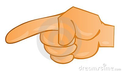 Index Finger Stock Photography.