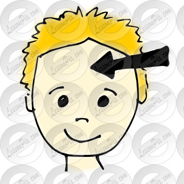 The forehead clipart #16