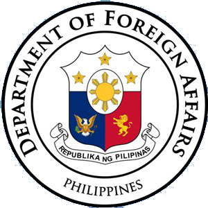 File:Seal of the Department of Foreign Affairs of the Philippines.
