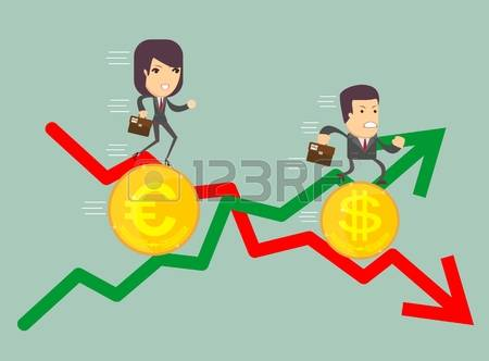 2,453 Exchange Loss Stock Vector Illustration And Royalty Free.