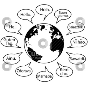 Foreign Language Class Clipart.